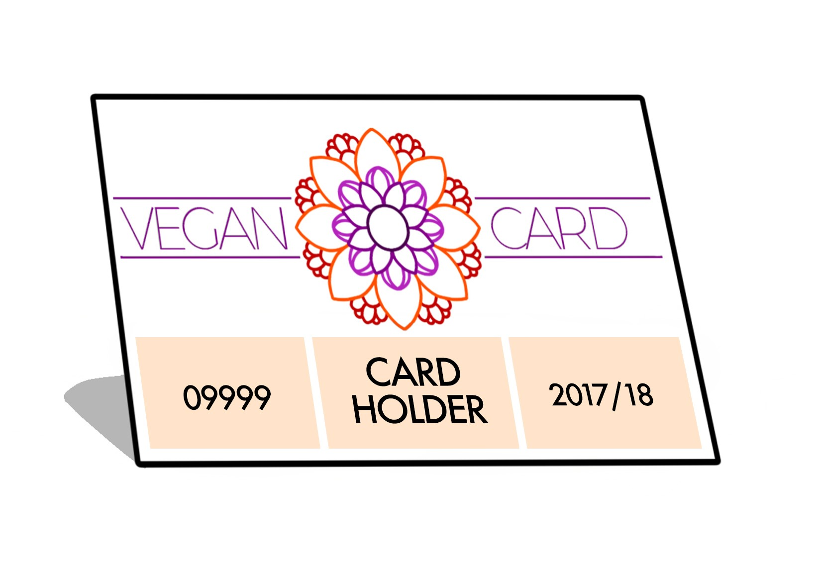 Vegan Card valid to June 30 2018